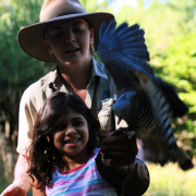 Amelia with Pacific baza