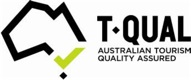 T-Qual Australian Tourism Quality Assured accreditation