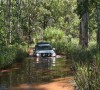 Our 4X4 Landcruiser on the Reynolds River track