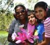 Tess Atie family at Bamurru Plains