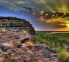 Sunset at Ubirr in Kakadu National Park